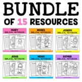 BUNDLE & SAVE - Super Kids Bible Heroes Units (English)