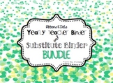 BUNDLE - Ribbons and Dots - Sub Tub Substitute Binder & Te