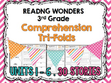 COMPLETE BUNDLE Units 1-6 - Wonders - Tri-Folds 3rd Grade