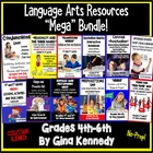 BUNDLED 4th & 5th GRADE COMMON CORE LANGUAGE ARTS UNITS, 1
