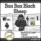 Baa Baa Black Sheep Books & Sequencing Cards