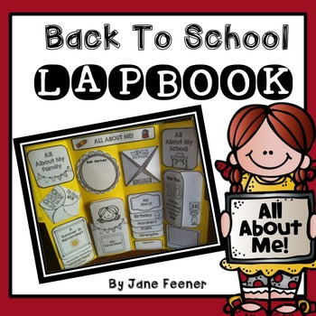 Back To School (All About Me) Lapbook