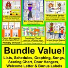 Back To School BUNDLE VALUE! Save $5.00! Planning Material
