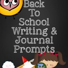 Back To School Journal Prompts