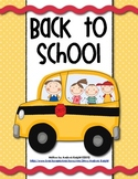 Back-To-School Pack {Including Open House}