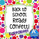 Back To School Ready Confetti