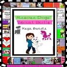 Back To School Social Skills Bundle Rescue Dogs' Series SP