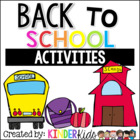Back To School Unit:  Math and Literacy Activities
