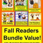 Fall Emergent Readers {VALUE BUNDLE} for September & Octob