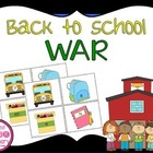 Back To School War Math Game