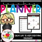 Back to School: 2013 - 2014 Ultimate Teacher Planner