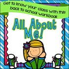 Back to School All About Me Print and Go Workbook!