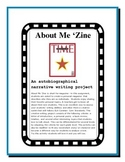 Back to School Autobiographical Narrative Writing--About Me 'Zine