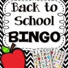 Back to School BINGO (and other games)