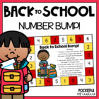 Back to School Bump! Number Recognition Game
