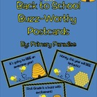Back to School Buzz Worthy Postcards