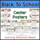 Center Posters and Printables {CCSS Aligned!}