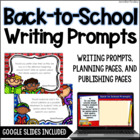 Back to School Common Core Writing: Opinion, Informative,