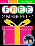 FREE SURPRISE #2 FOR FOLLOWERS - Welcome Signs (Multilingual)