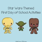 Back to School First Day  Icebreakers - Star Wars Themed