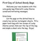 Back to School Goody Bags (Lucky Charms)