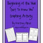 Back to School Graphing Activity Pack
