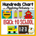 Back to School Hundreds Chart Mystery Pictures
