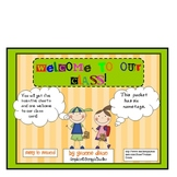 Back to School Incentive Charts and Name Plates