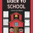 Back to School Literacy Pack