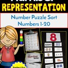 Back to School Numbers 1-10 (A Math Center Activity)