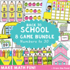 Back to School Math Games / Center Pack