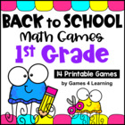 Back to School Math Games First Grade