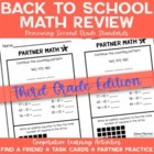 Back to School: Math Review of Grade 2 Concepts for 3rd Gr