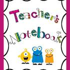 Back to School Monster Binders for Teachers!
