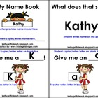 Back to School Name Cheer Book