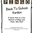 Back to School PINGO