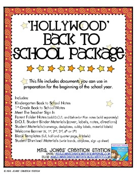 Back to School Package {Hollywood}