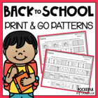 Back to School Printable Pattern Packet
