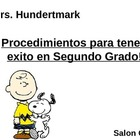 Back to School Procedures (Spanish) Charlie Brown