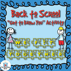 Back to School Puzzle ~ Get to Know You Activity