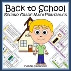 Back to School Quick Common Core (2nd grade)
