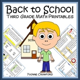 Back to School Quick Common Core (3rd grade)