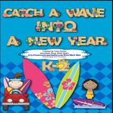 Back to School (Surfing Theme) Catch a Wave Into A New Yea
