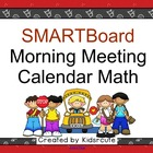 Back to School-Themed Smartboard Calendar Math/Morning Meeting