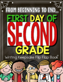 Back to School and End of the Year Flip Flap Keepsake 2nd Grade
