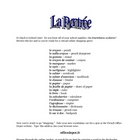 Back to School in French Class:  School Supplies Web Quest