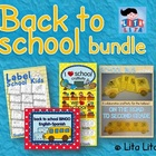 Back to School printables bundle