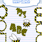 Back to school - BEE Theme decor clipart