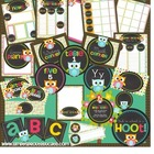 Back to school is a hoot! Printable classroom templates, d