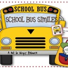 Backpack Games: School Bus Similes (A Flash Card Game Usin